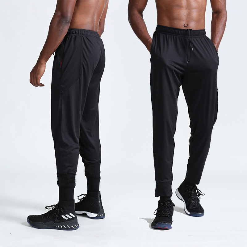 High quality men custom design breathable oem logo professional casual sports gym outdoor mens pants