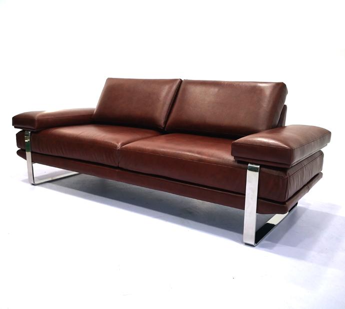 Tan Italian Leather Upholstery