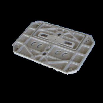 Zinc casting valve plate Spares Parts Track Link Chain