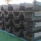Cold Rolled U And Z Type Sheet Pile Steel