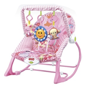 Kids automatic music vibrating rocking chair cradle baby bouncer rocker chair similar to fisher price