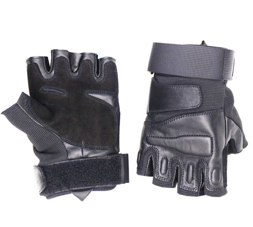 Goatskin Leather Police Equipment Military Tactical Army Gloves