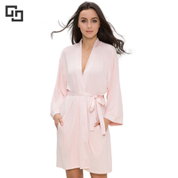 Custom Comfort Bamboo Fibers Cotton Spa Women's Sleepwear Robes