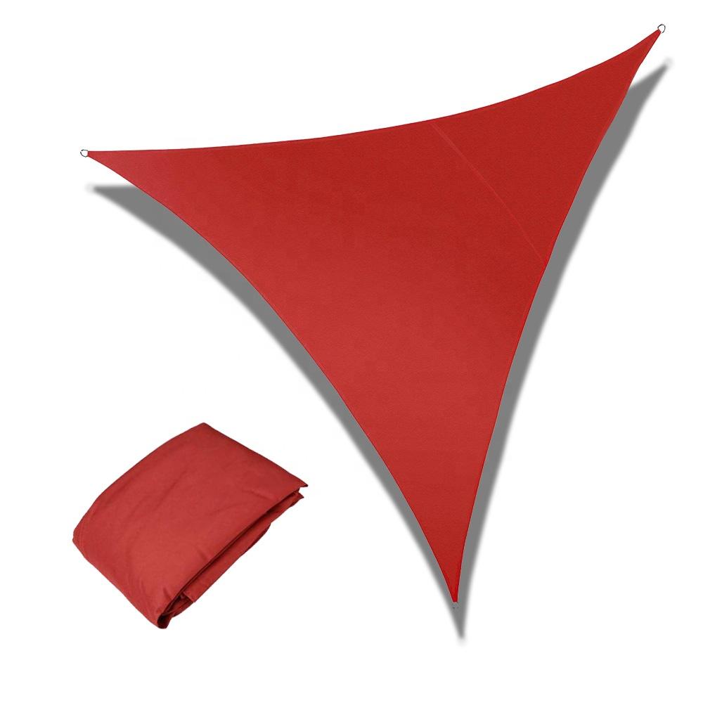 Sun Shade Sail Triangle UV Block Sun Sail Shades for Patio Garden Outdoor