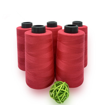 30s/2 spun yarn 100% polyester sewing thread for stitching