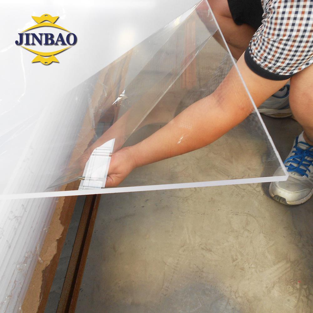 JINBAO לייזר חיתוך 3mm פלסטיק יום ולילה dichroic מזון כיתה חלב לבן וצבע אקריליק