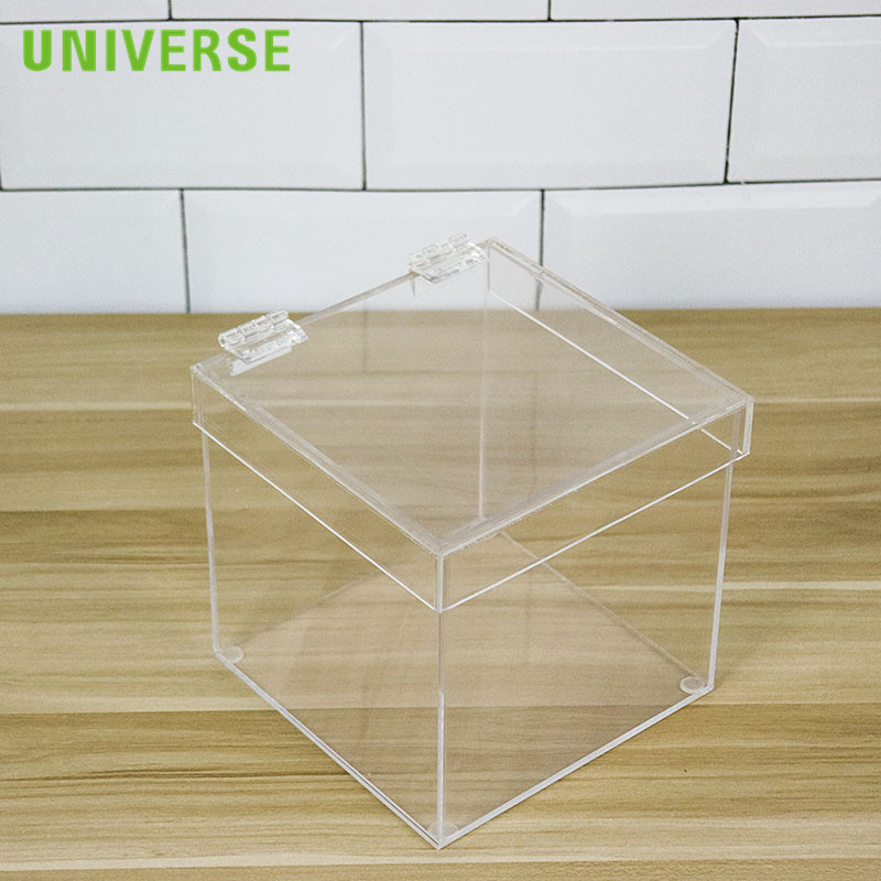 UNIVERSE transparent clear gift box <strong>acrylic</strong>
