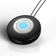 Горячий USB носимый очиститель воздуха ожерелье мини портативный воздухоочиститель отрицательных ионов генератор Низкий уровень шума осве...(Китай)