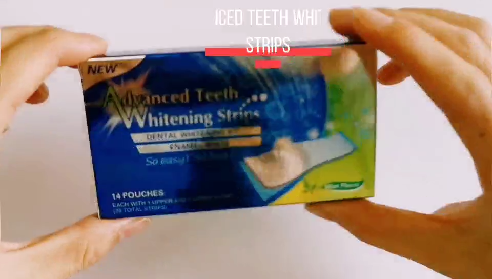Advanced Teeth Whitening Strips 28Pcs/14 Pair For Oral Hygiene Stain Removal Double Elastic Dental Tooth Whiten Bleaching Strip