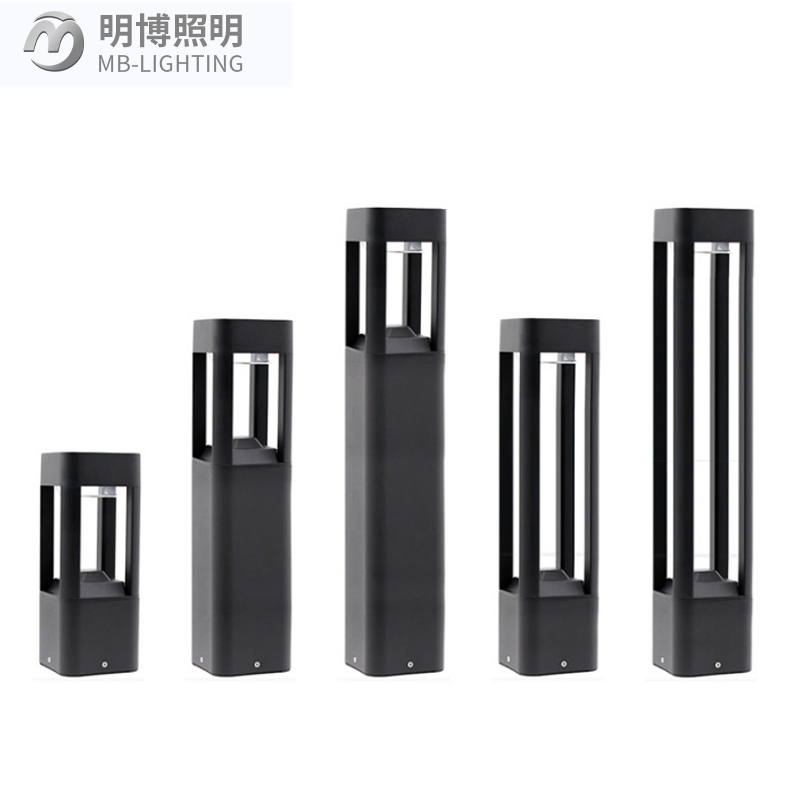 European Outdoor Classic Decorative Aluminium Black <strong>Cast</strong> <strong>Iron</strong> Low Voltage Bollard Led Garden Lamp Park Lawn Standing <strong>Light</strong>
