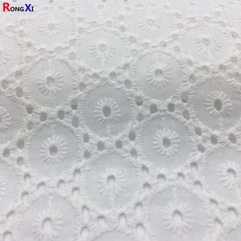 RXF0506 Brand New Cotton Mesh Fabric With High Quality