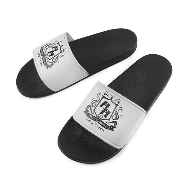 Greatshoe wholesale summer slides sandals quality black custom logo rubber women slippers men PVC slide sandal, Requirement