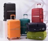 New Type Wholesale OEM/ODM Trolley Luggage 3 pcs Airplane Hard Shell Custom Travel PP Luggage Set