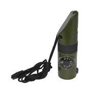 7 в 1 свисток многофункциональный свисток пластиковый компас фонарик температура наружные принадлежности для кемпинга поиск спасения(Китай)
