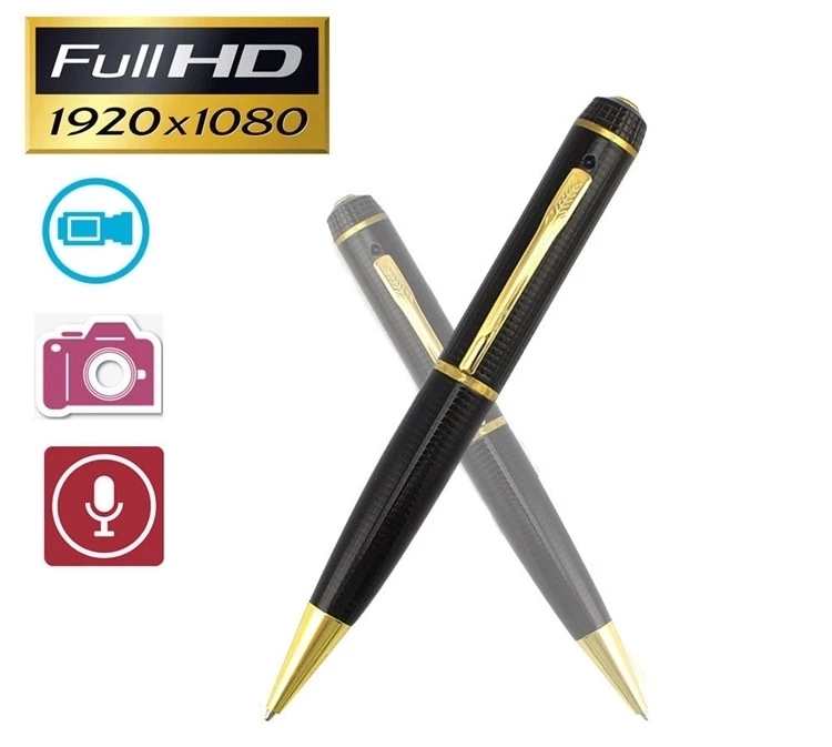 Best selling HD WiFi FHD 1080P Body Meeting Recorder Pen Camera with video recording online Camera