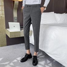 Мужские деловые брюки, повседневные брюки на весну и лето 2020(Китай)