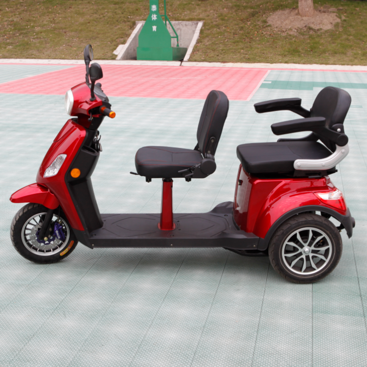 3 rounds of 500W tricycles, adult electric scooters, disabled electric vehicles