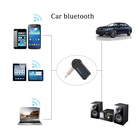 Bluetooth Car Kit Max 10m Car Audio Receiver Mini 3.5mm Wireless Bluetooth Car Kit Aux Stereo Audio Adapter Handsfree Stereo Music Car Bluetooth Receiver