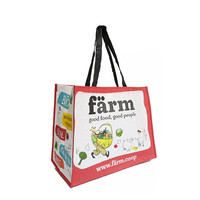 Foldable Shopping Bag Reusable Eco Large Non-woven Shoulder Bags Tote Grocery Cloth Bags Pouch