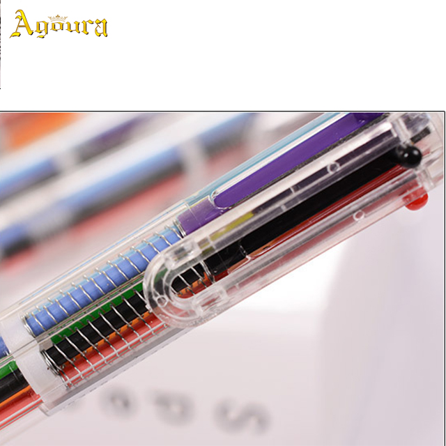 China manufacturer supply fashionable promotional colorful ballpoint pens