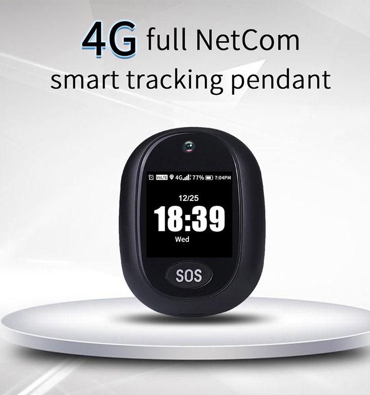 Waterproof 4G GPS Tracker Elderly SOS Alert Long Time Standby GPS Mini Tracker