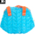 thick PVC colorful inflatable women bag durable clear plastic blow up swimming waterproof handbag beach hand bag