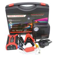 New style 8000mah 12V Multifunctional Emergency tools Car Jumper Booster With Air Pump portable car battery jump starter