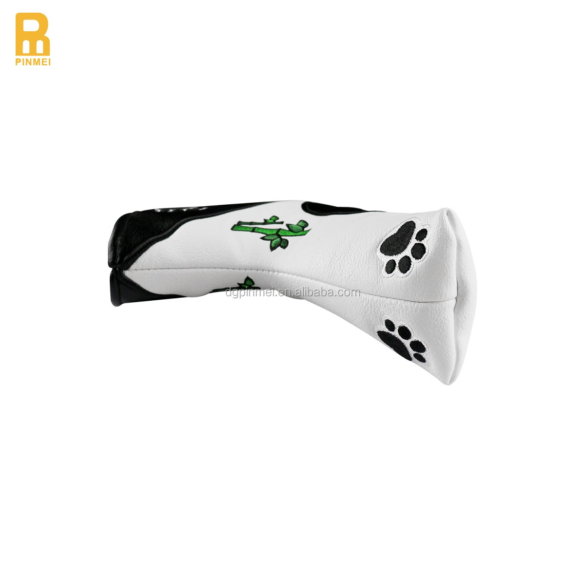 Factory Price Panda Embroidery Golf Club Head Cover for Putter