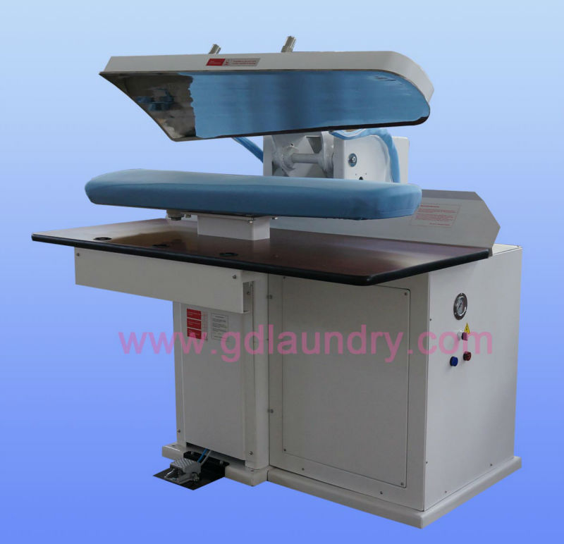 automatic air control dry cleaning press (build with boiler type)for Congo market