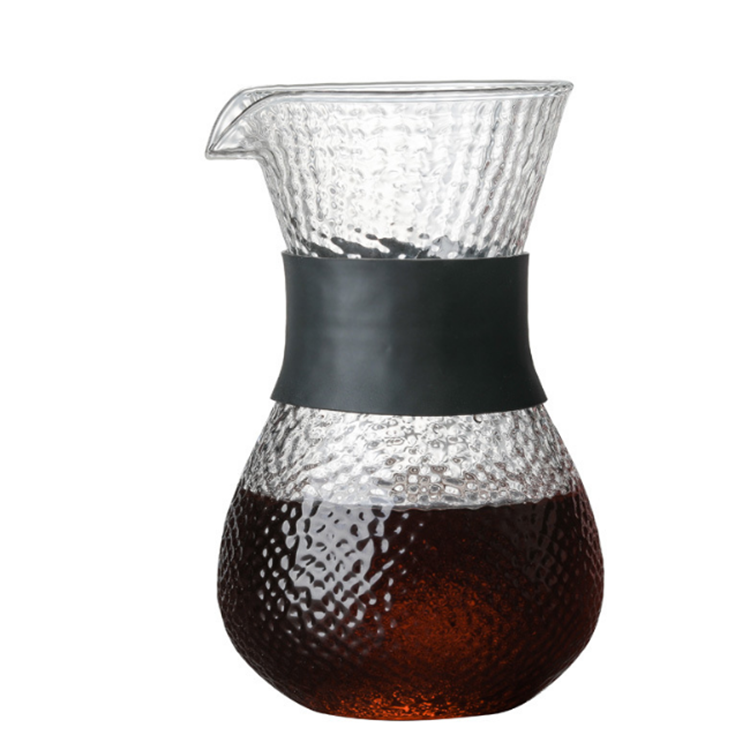 family Hot Sales Best Quality  High Borosilicate    kettle glass Coffee Pot