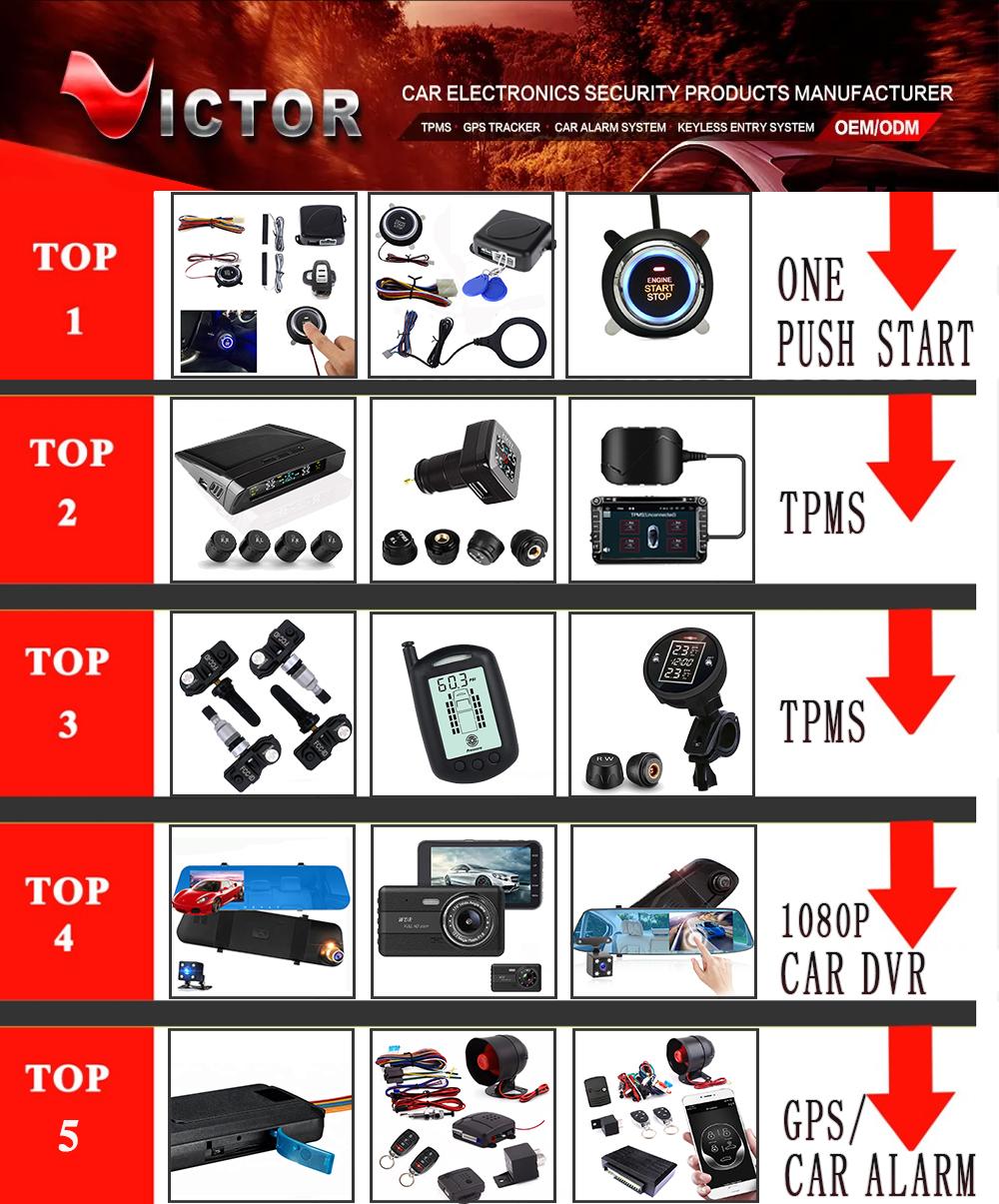 Fornecedores TOP Vender 4.3 Polegadas Escondida HD 1080P Automobile Reverter Side Car Espelho Retrovisor Camera Recorder DVR