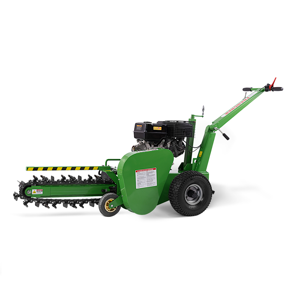 TOP Austter TCR1500 TUV SUDได้รับการรับรองTrench Diggerเครื่อง,เดินTrencher