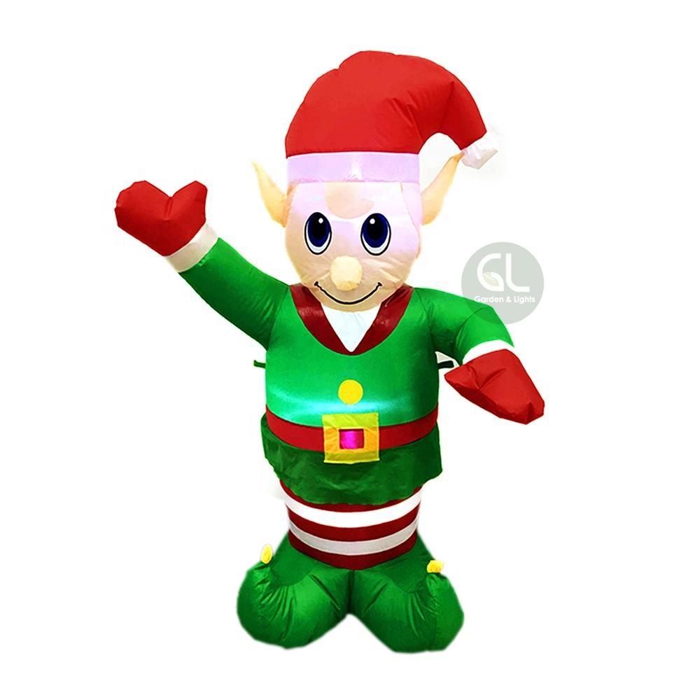Outdoor Christmas Elf Christmas Decoration Inflatable Elf