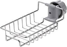 Стойка для хранения смесителя из нержавеющей стали, регулируемая стойка для раковины, тряпичная губка, сливная стойка для кухни ванной комн...(Китай)