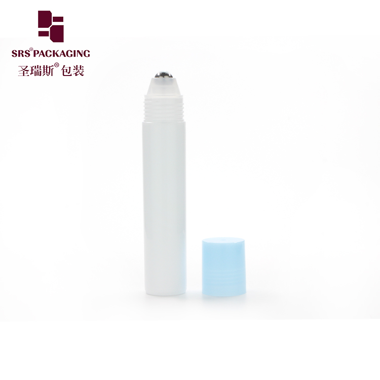 2020 wholesale price 20ml plastic roll on bottle with steel roller ball