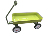 TC1817 Lead-free and chrome free Children kids classic red wagon for kid
