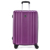BUBULE 3PCS Stylish Trolley Luggage Set Pink Fashion Portable Spinner Suitcase