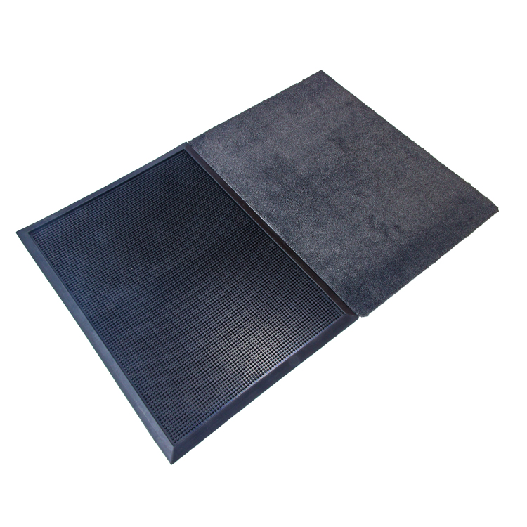 New rubber and cotton non-slip dust removal and disinfection mat