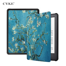 CYKE Magnetische Case 6inch e-reader Filp cover Voor Amazon nieuwe <span class=keywords><strong>Kindle</strong></span> 10th Generatie 2019 6""