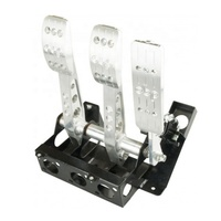 racing car aluminum brake pedal box