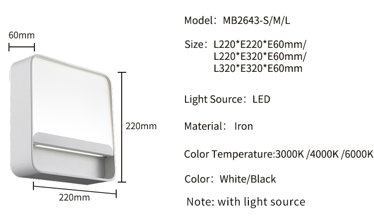 New Product Cheap Price Invention aluminum modern Classic Led Wall Light