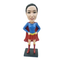 Artificial  Woman Style and Resin Material of  Bobble Head Action Figures