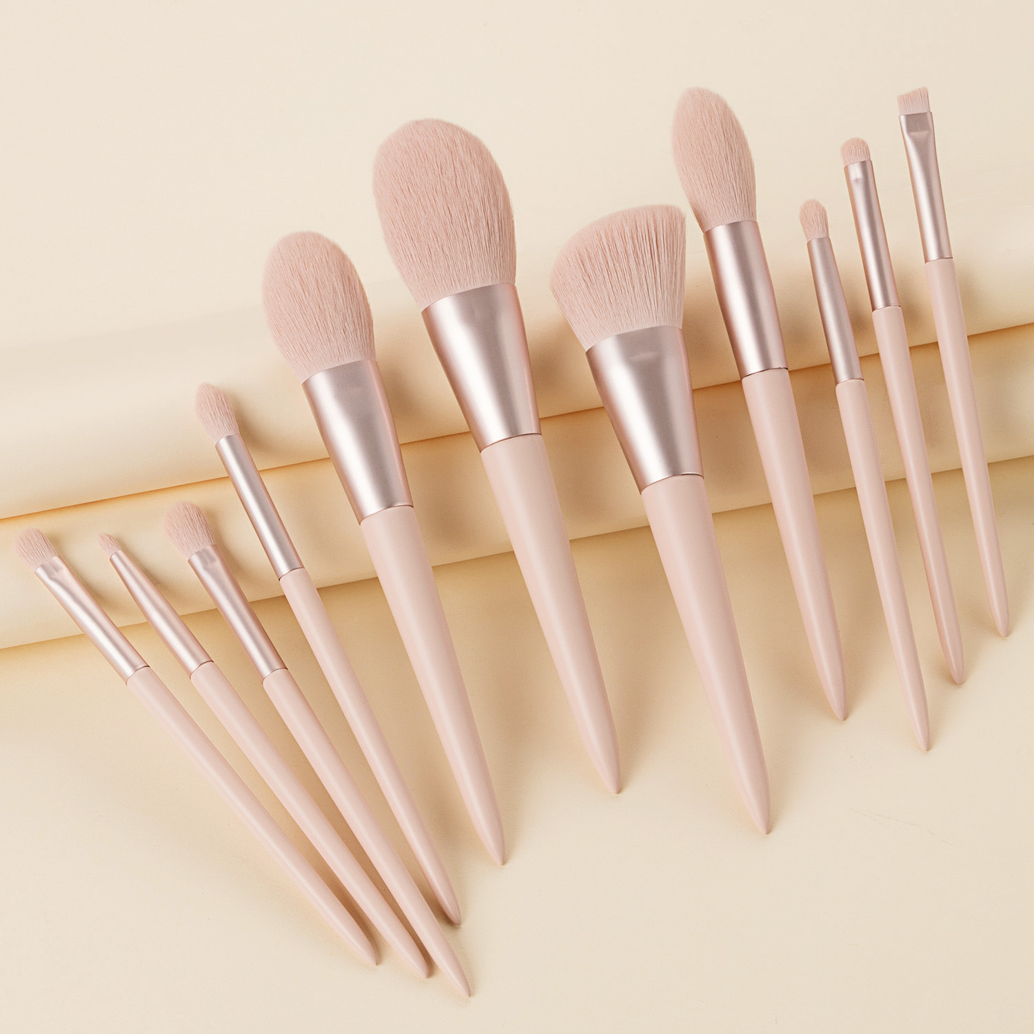 2020 New Style 11 pieces <strong>high</strong> <strong>quality</strong> private label <strong>makeup</strong> <strong>brush</strong> with a bag