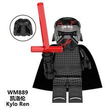Legoed НОВЫЙ Звездные войны Kylo Ren Drak Rey Palpatine Sith Stormer trooper строительные блоки миниатюрные детские игрушки подарки(Китай)