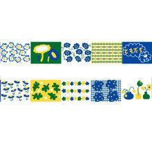 Васи лента журнал декоративные клейкие ленты канцелярские принадлежности наклейки Набор Скрапбукинг DIY дневник альбом палка T1(Китай)
