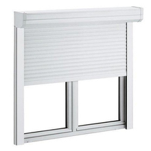 Security Aluminum Fire Rated Automatically Rolling Shutter Window