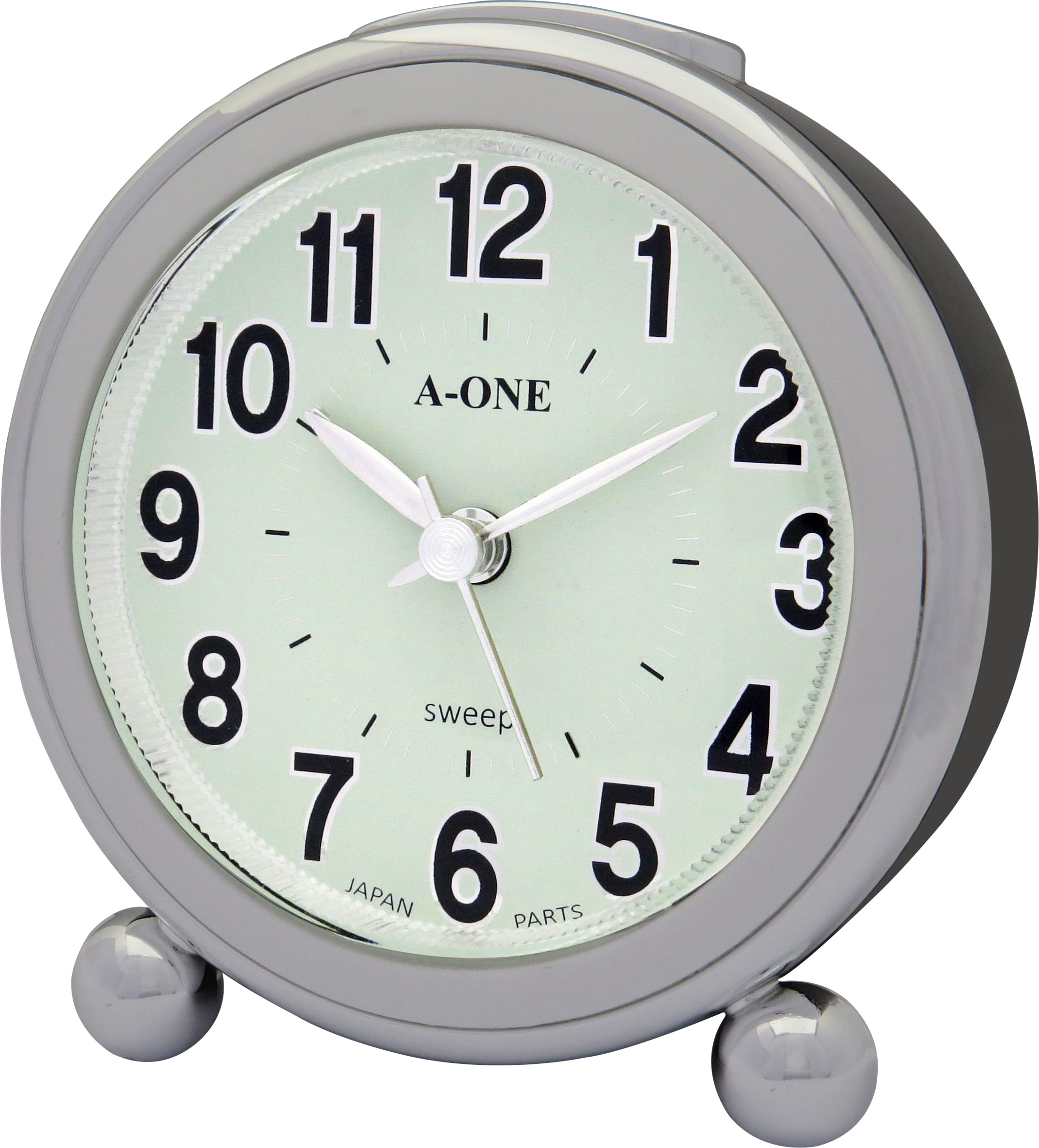 Customized Plastic Standing Wake Up Light Compact Table Alarm Clock For Home Decoration