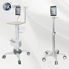 TML-056 Medical transfer instrument table crash carts for sales, Hospital Emergency Theatre Nursing Trolley price