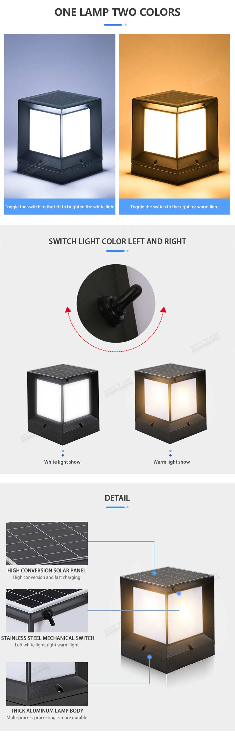 ALLTOP high end solar landscape lights-9