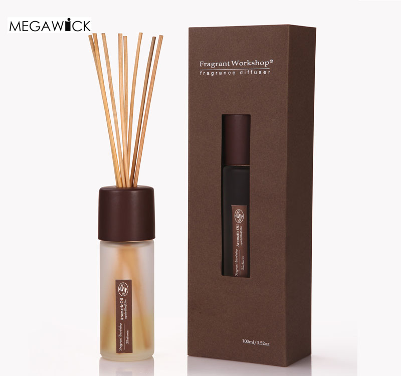 50ml Private Label Reed Diffuser with Rattan Stick.Odor Eliminator Home Fragrance